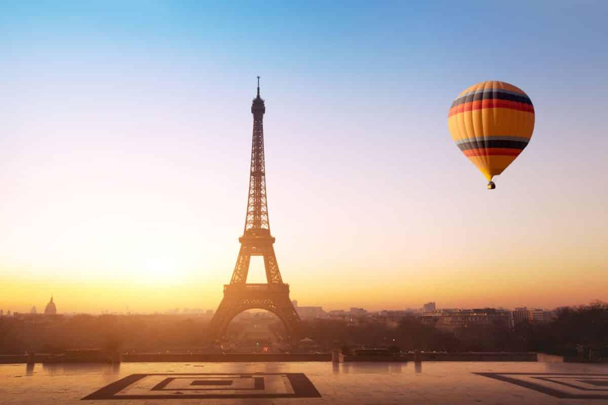 باريس - منطاد حديقة أندريه سيتروين