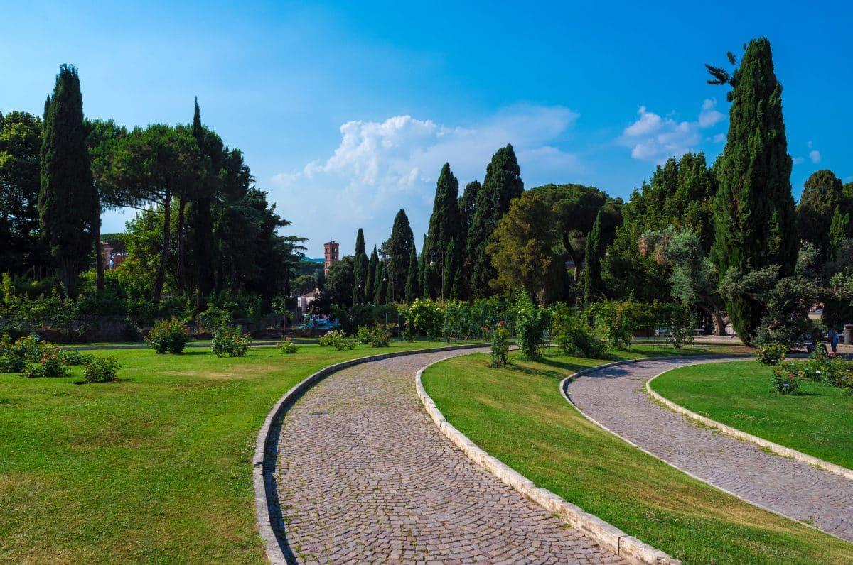 روما - حديقة Roseto Comunale - Rome Rose Garden