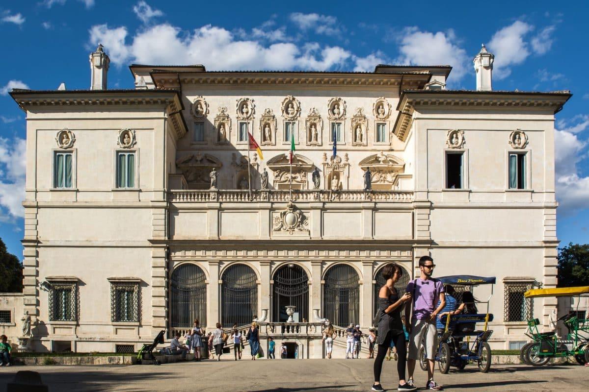 روما - معرض بورغيزي Galleria Borghese