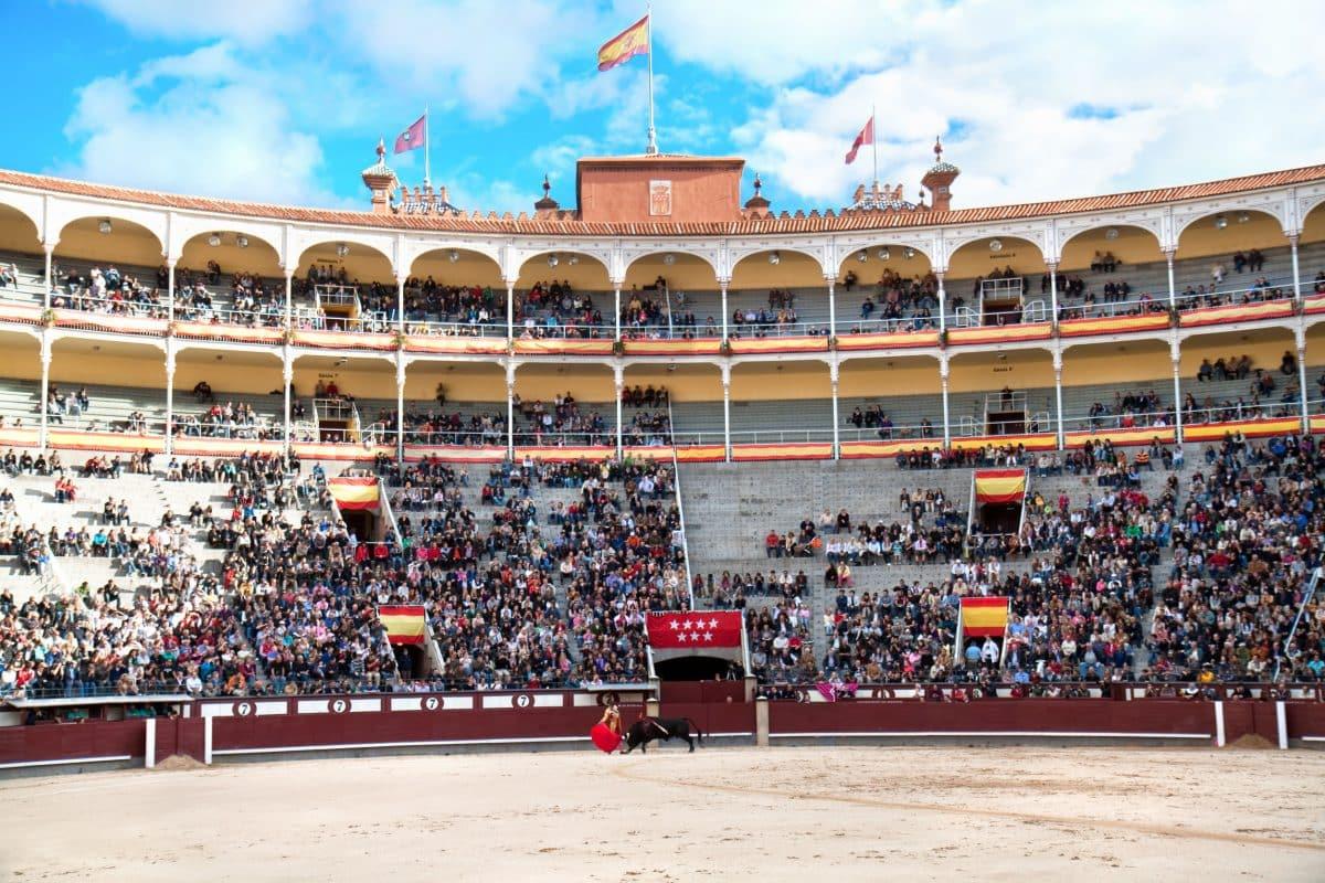 مدريد - حلبة لاس فينتاس لمصارعة الثيران
