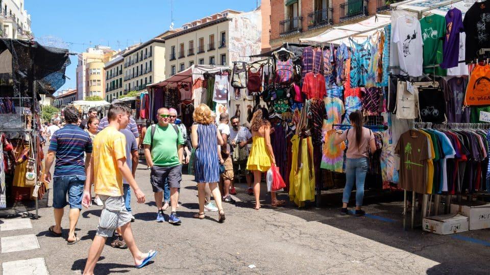 مدريد - سوق الراسترو
