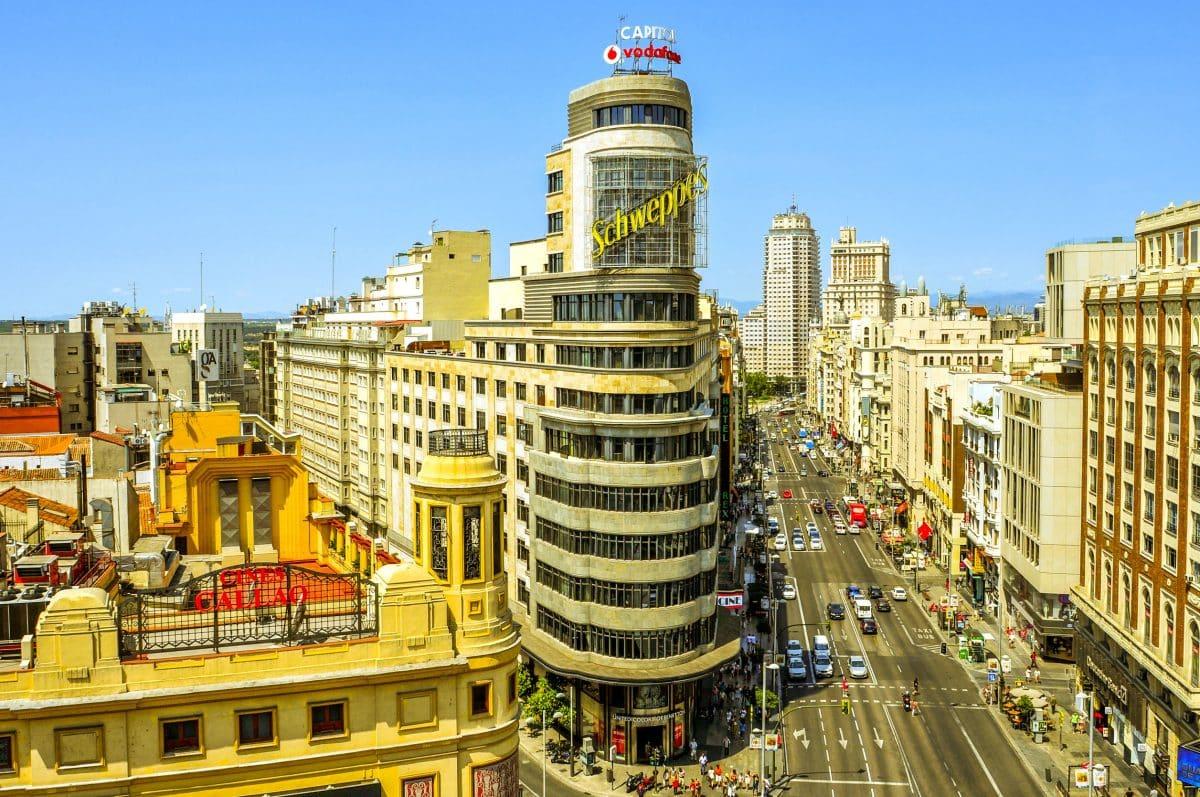 مدريد - فندق غران فيا كابتيل
